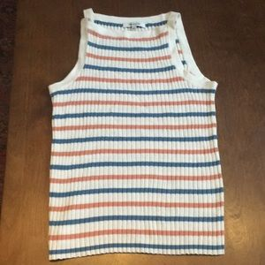 Madewell tank top, size small